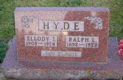 HYDE, ELLODY I. - Delaware County, Iowa | ELLODY I. HYDE