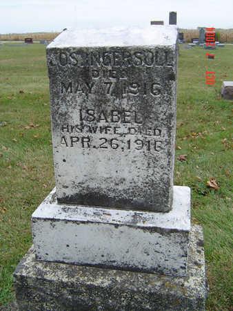 INGERSOLL, ISABEL - Delaware County, Iowa   ISABEL INGERSOLL