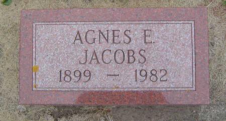 JACOBS, AGNES ELIZABETH - Delaware County, Iowa | AGNES ELIZABETH JACOBS
