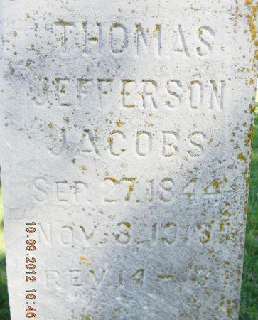 JACOBS, THOMAS JEFFERSON - Delaware County, Iowa | THOMAS JEFFERSON JACOBS