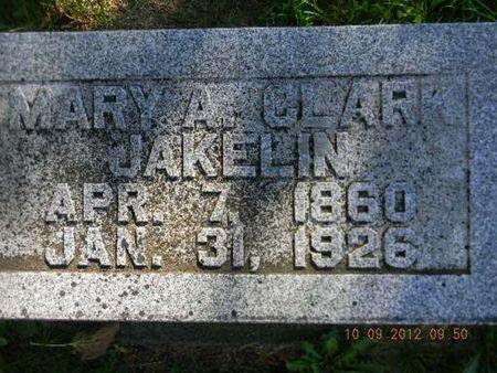 JAKELIN, MARY A. - Delaware County, Iowa | MARY A. JAKELIN
