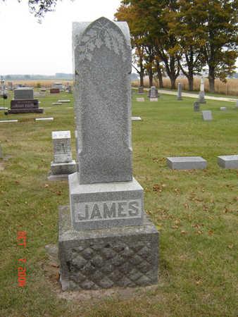 JAMES, FAMILY STONE - Delaware County, Iowa | FAMILY STONE JAMES