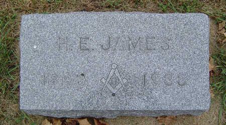 JAMES, H. E. - Delaware County, Iowa | H. E. JAMES