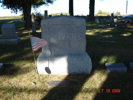 JEFFERIS, FAMILY STONE - Delaware County, Iowa | FAMILY STONE JEFFERIS