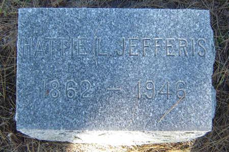 JEFFERIS, HATTIE L. - Delaware County, Iowa | HATTIE L. JEFFERIS