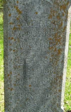 JOHNSON, ANDREW - Delaware County, Iowa | ANDREW JOHNSON