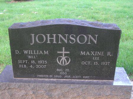 JOHNSON, D. WILLIAM - Delaware County, Iowa | D. WILLIAM JOHNSON