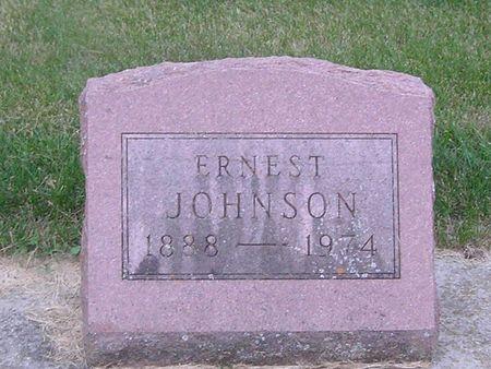 JOHNSON, ERNEST - Delaware County, Iowa   ERNEST JOHNSON