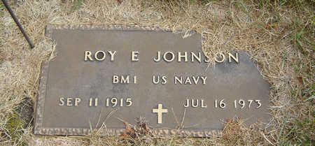 JOHNSON, ROY E. - Delaware County, Iowa   ROY E. JOHNSON