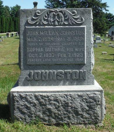 JOHNSTON, HUNTER M. - Delaware County, Iowa | HUNTER M. JOHNSTON