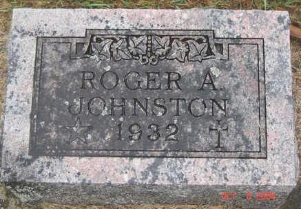 JOHNSTON, ROGER A. - Delaware County, Iowa   ROGER A. JOHNSTON
