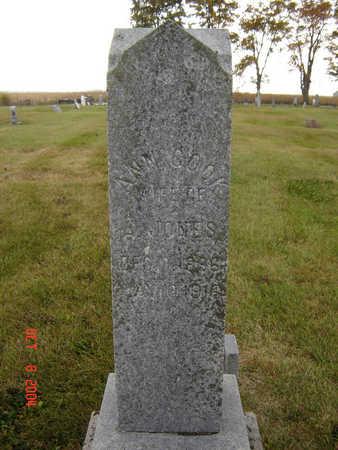 COOK JONES, ANN - Delaware County, Iowa | ANN COOK JONES