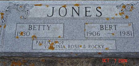 JONES, BERT - Delaware County, Iowa | BERT JONES