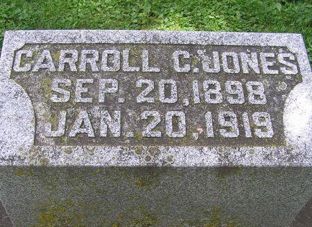 JONES, CARROLL - Delaware County, Iowa | CARROLL JONES
