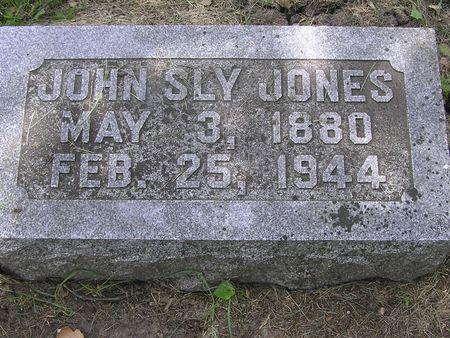 JONES, JOHN SLY - Delaware County, Iowa | JOHN SLY JONES