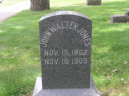 JONES, JOHN WALTER - Delaware County, Iowa | JOHN WALTER JONES