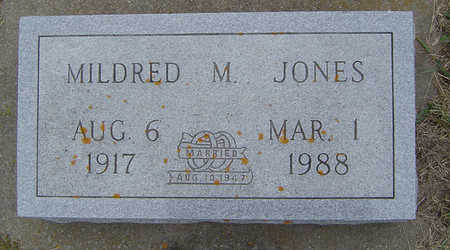 JONES, MILDRED M. - Delaware County, Iowa | MILDRED M. JONES