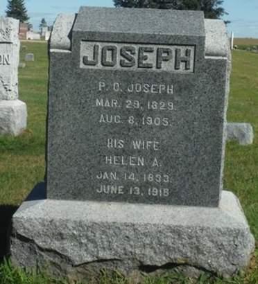 JOSEPH, HELEN A. - Delaware County, Iowa   HELEN A. JOSEPH