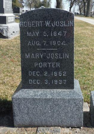PORTER JOSLIN, MARY - Delaware County, Iowa | MARY PORTER JOSLIN