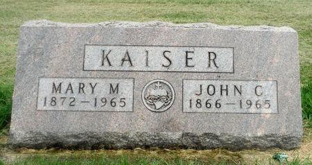 KAISER, JOHN C. - Delaware County, Iowa | JOHN C. KAISER