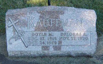 KAUFFMAN, DOYLE M. - Delaware County, Iowa | DOYLE M. KAUFFMAN