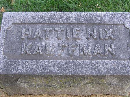 KAUFFMAN, HATTIE - Delaware County, Iowa | HATTIE KAUFFMAN