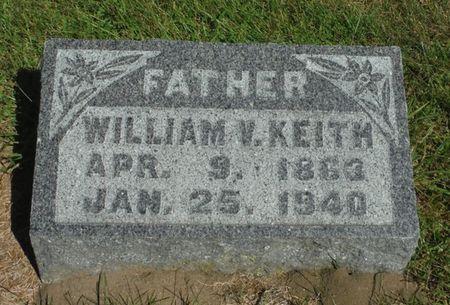 KEITH, WILLIAM V. - Delaware County, Iowa | WILLIAM V. KEITH