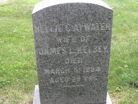 ATWATER KELSEY, NELLIE - Delaware County, Iowa   NELLIE ATWATER KELSEY