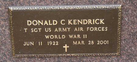 KENDIRCK, DONALD C. - Delaware County, Iowa | DONALD C. KENDIRCK