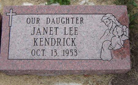 KENDRICK, JANET LEE - Delaware County, Iowa | JANET LEE KENDRICK