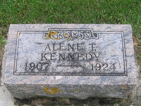 KENNEDY, ALENE - Delaware County, Iowa | ALENE KENNEDY
