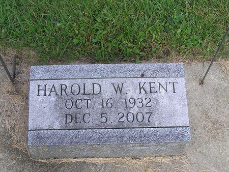 KENT, HAROLD W. - Delaware County, Iowa | HAROLD W. KENT
