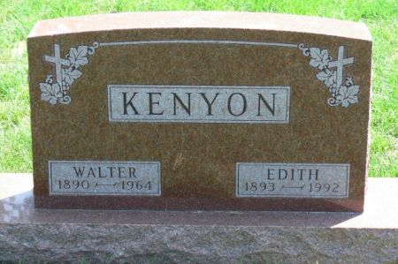 KENYON, EDITH - Delaware County, Iowa | EDITH KENYON
