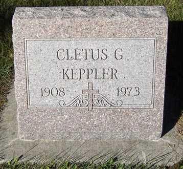KEPPLER, CLETUS G. - Delaware County, Iowa | CLETUS G. KEPPLER