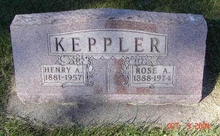 KEPPLER, HENRY A. - Delaware County, Iowa | HENRY A. KEPPLER
