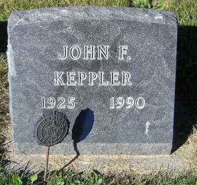 KEPPLER, JOHN F. - Delaware County, Iowa | JOHN F. KEPPLER