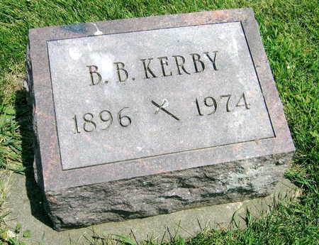 KERBY, B.B. - Delaware County, Iowa | B.B. KERBY