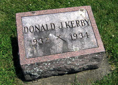 KERBY, DONALD - Delaware County, Iowa   DONALD KERBY
