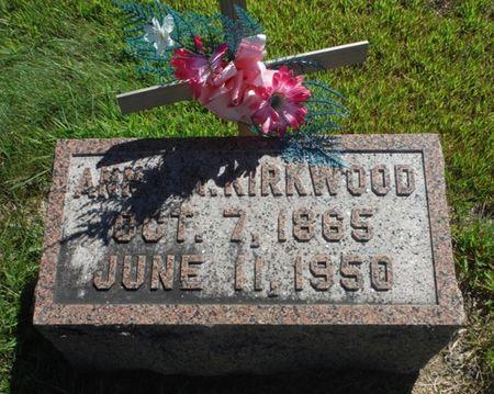 KIRKWOOD, ANNA M. - Delaware County, Iowa | ANNA M. KIRKWOOD