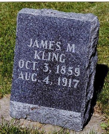 KLING, JAMES MADISON - Delaware County, Iowa | JAMES MADISON KLING