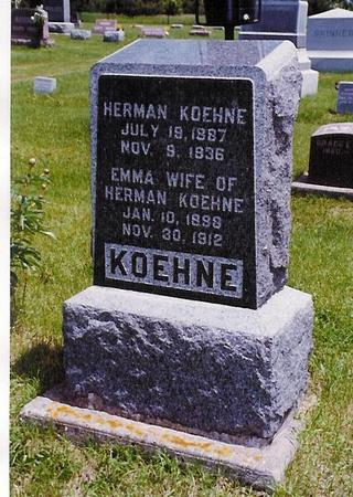 KOEHNE, HERMAN - Delaware County, Iowa | HERMAN KOEHNE