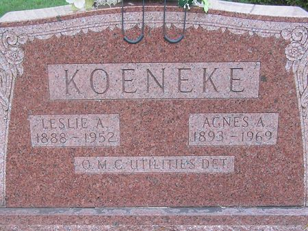 KOENEKE, LESLIE A. - Delaware County, Iowa | LESLIE A. KOENEKE