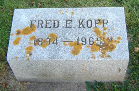 KOPP, FRED E. - Delaware County, Iowa | FRED E. KOPP