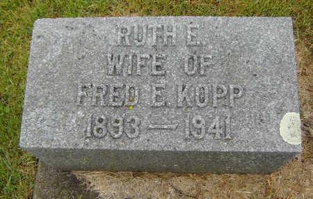 FISHER KOPP, RUTH E. - Delaware County, Iowa | RUTH E. FISHER KOPP