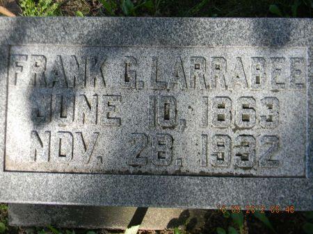 LARRABEE, FRANK G. - Delaware County, Iowa   FRANK G. LARRABEE