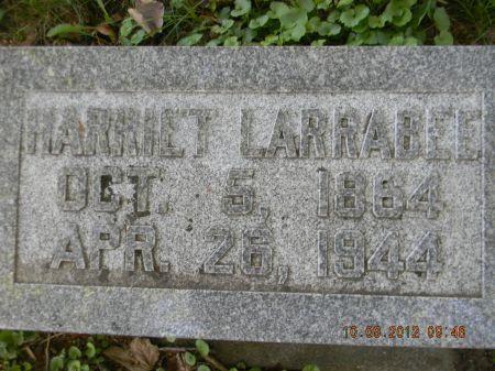 LARRABEE, HARRIET - Delaware County, Iowa   HARRIET LARRABEE