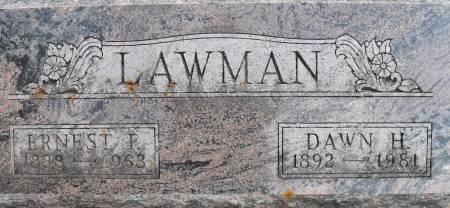 LAWMAN, ERNEST - Delaware County, Iowa | ERNEST LAWMAN