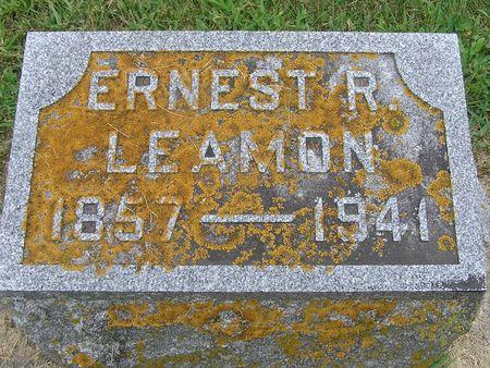LEAMON, ERNEST R. - Delaware County, Iowa | ERNEST R. LEAMON