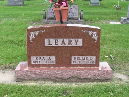 LEARY, NELLIE - Delaware County, Iowa | NELLIE LEARY