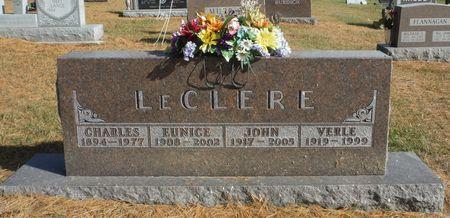 LECLERE, EUNICE 'BILLIE' - Delaware County, Iowa   EUNICE 'BILLIE' LECLERE